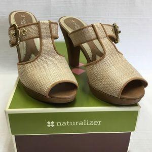 Great Looking Slide-on Heels in Original Box